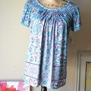 NWT Style & Co Core Short Sleeves Tops Size S
